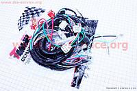 Проводка Дельта с тахометром ( 2 фишки у руля )        16018668