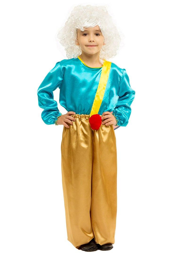 Костюм Карлсон: кофта, штаны с пропеллером и парик.