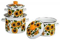 Набор посуды Epos Соняшник 6 предметов емаль (№5 Сонце)