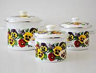 Набор посуды Epos Силетта 6 предметов емаль (№5 Силетта)