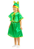 Костюм Лягушки для девочки: юбка, накидка и шапка-маска., фото 3