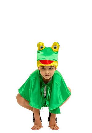 Костюм Лягушки для мальчика: шорты, накидка и шапка-маска., фото 2
