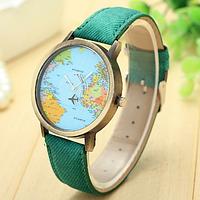 """Часы женские """"Карта мира"""""""
