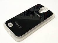 Чехол силиконовый с логотипом для Samsung Galaxy S4 i9500