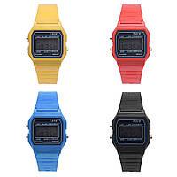 Модные цветные наручные часы, Унисекс