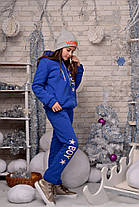 "Е1982 Подростковый теплый костюм ""BOY"" Синий, фото 2"