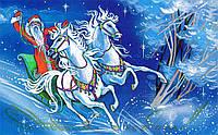 Картинка вафельная А4 Новогодняя 10