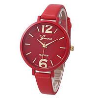 Женские наручные часы Geneva, Красный 1, фото 1