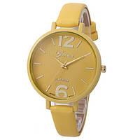 Жіночі наручні годинники Geneva, Жовтий 1, фото 1