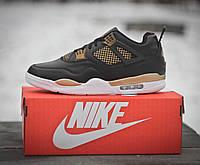 Кроссовки мужские баскетбольные Nike Air Jordan Black (реплика), фото 1