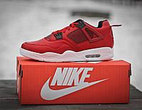 Кроссовки мужские баскетбольные Nike Air Jordan Red (реплика), фото 1