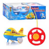 Музыкальная игрушка на р/у веселый самолетик ZYB-B 0363