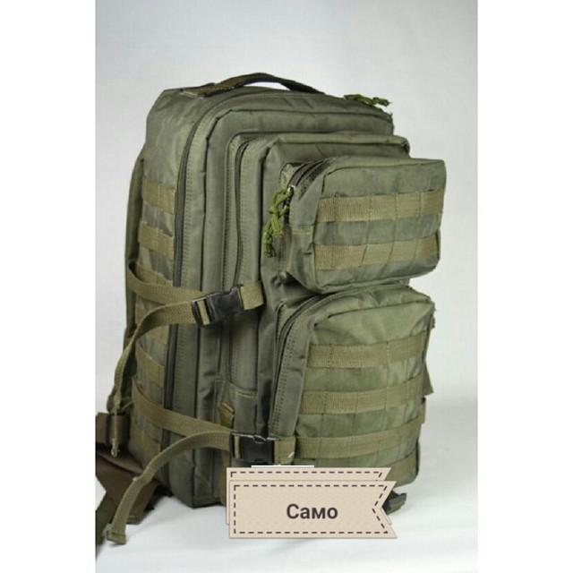 Рюкзак тактический, армейский олива на 45литров