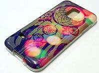 Чехол силиконовый с рисунком ловец снов для Samsung Galaxy S5 mini g800h