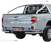 Защитная дуга в кузов (ролбар) Mitsubishi L200 2006-2014