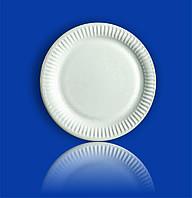 Тарелка бумажная Ø205 круглая