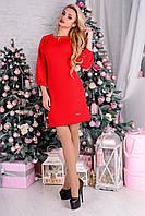 """Платье """"77357"""" Красный"""