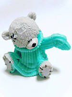Мишка Тедди-1  , 3-D мыло ручная работа.