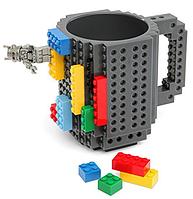 Кружка-конструктор Lego - Build-On Brick Mug 340 мл. для дітей та дорослих, аналог Лего, фото 1
