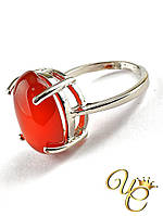 Кольцо Сердолик «Незабвенное XVII»