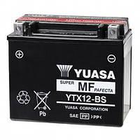 Аккумулятор на скутер, мопед , мотоцикл 12 вольт 10 ампер YUASA YTX12-BS  150x87x130