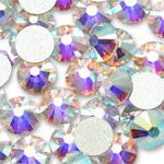 Стразы копия Swarovski 16 граней ss16 208 AB Crystal HotFix
