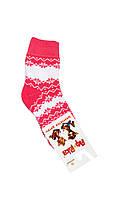 """Теплые носки для детей """"Снежинка"""" 14"""