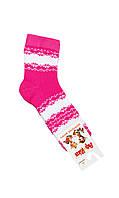 Махровые носочки для девочек 20