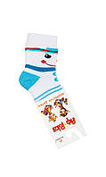 """Махровые носки для мальчика """"Снеговичок"""" 10"""