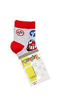 """Хлопковые носочки для мальчика """"Машинки"""" 7-9"""