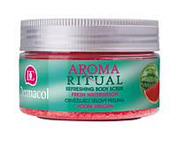 Dermacol Body Aroma Ritual Пилинг для тела мягкий Свежий Арбуз