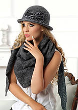 Очень стильная современная теплая шляпка коллекции Betina Польша