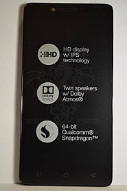Дисплей Lenovo A6010 с сенсором Black, оригинал