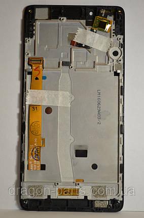 Дисплей Lenovo A6010 с сенсором Black, оригинал, фото 2