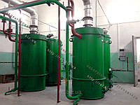 Котел отопительный промышленный на твердом топливе (щепе, опилках, лузге, шелухе, жмыхе, гранулах, пеллетах) с автоматической подачей 300 кВт, фото 1