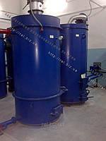 Теплогенератор твердотопливный воздухогрейный 700 кВт на отходах (щепе, опилках, лузге, шелухе, жмыхе, гранулах, пеллетах) с механизированной подачей
