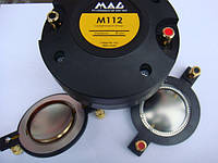 Мембрана (алюминиевая) для ВЧ MAG MEM-M112 (пищалок) P.AUDIO BM-D440 Behringer 44T30D8 44P60A8 44T60