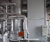 Топка вихревая для термомаслянных котлов на отходах (щепе, опилках, лузге, шелухе, жмыхе, гранулах, пеллетах) с механизированоной подачей 3 МВт