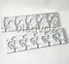 Алюмінієва форма для льодяників цукерки на паличці півник
