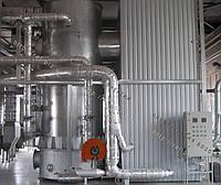 Топка вихревая для водогрейных котлов на отходах (щепе, опилках, лузге, шелухе, жмыхе, гранулах, пеллеты) с механизированной подачей 3 МВт
