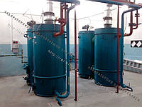 Тепловой комплекс воздухогрейный 100 кВт на отходах (щепе, опилках, лузге, шелухе, жмыхе, гранулах, пеллетах) с автоматической подачей топлива