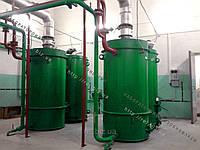 Теплогенерирующий комплекс воздухогрейный на отходах (щепе, опилках, лузге, шелухе, жмыхе, гранулах, пеллетах) с автоматической подачей 300 кВт