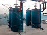 Воздухогрейный котел на твердом топливе (щепе, опилках, лузге, шелухе, жмыхе, гранулах, пеллетах) с автоматической подачей топлива 100 кВт, фото 1