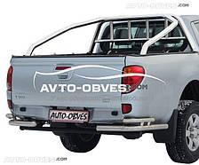 Защитная дуга в кузов (ролбар) для Mitsubishi L200 2006-2015