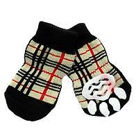 Носки антискользящие для собак, Dobaz Клеточка