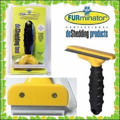 Щетка для груминга собак, кошек Furminator deShedding tool (Фурминатор)