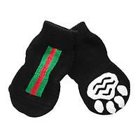 Носки антискользящие для собак, Dobaz Gucci