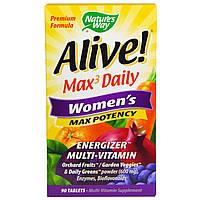 Nature's Way, Alive, Mаксимальная женская сила, 90 таблеток