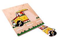 игрушка Мозаика - Желтый автомобиль