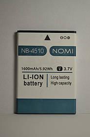 Аккумулятор Nomi i4510 BEAT M (АКБ, Батарея) NB-4510 , оригинал